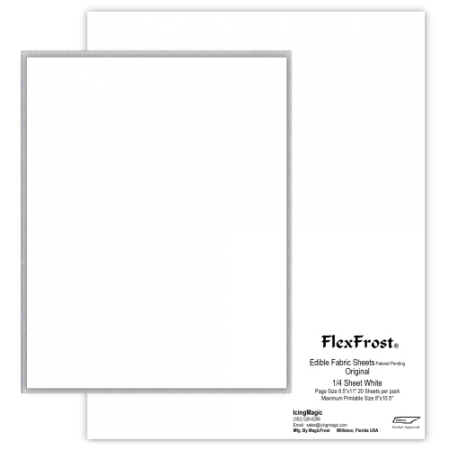 FlexFrost®  Original Edible Fabric Sheets