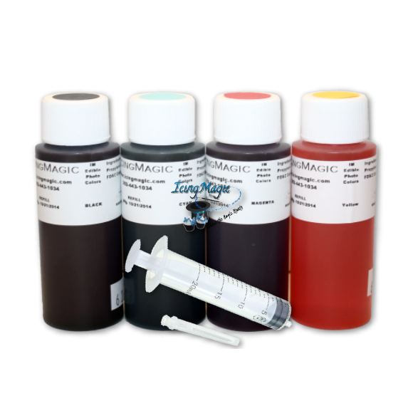 PhotoFrost Refill Set - 4 colors