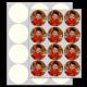 """2.13"""" Circle Edible Icing Sheets 24/pkg"""