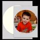 """7.5"""" Circle Edible Icing Sheets 24/pkg"""
