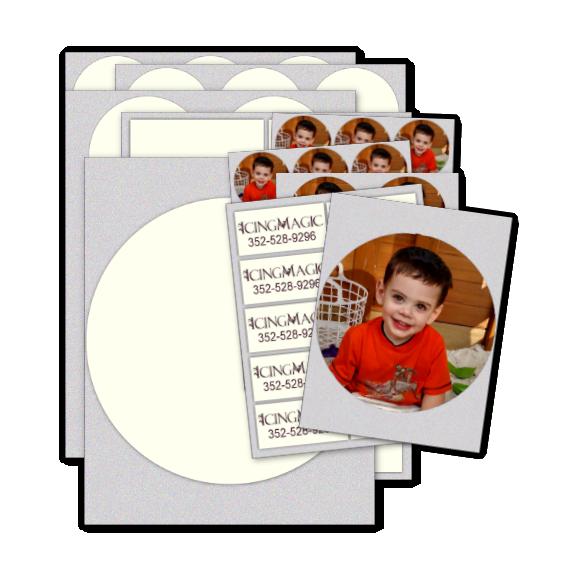 Sampler Ultimate Icing Sheets 20/pkg