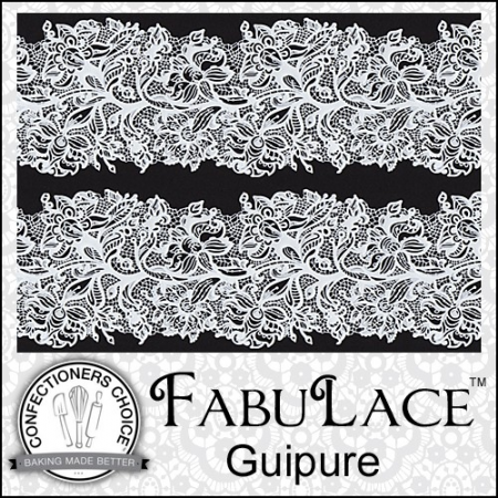 FabuLace™ Guipure Cake Lace Silicone Mat