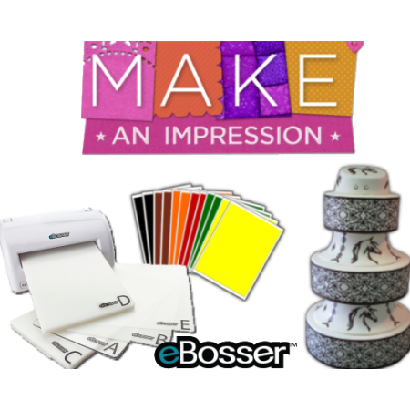 Ebosser w/PhotoFrost Cut-N-Frost colored sampler pack