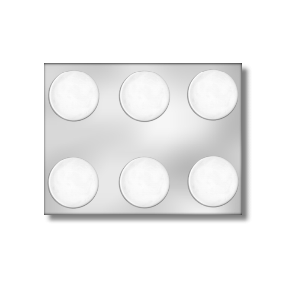 "2"" Circle Mold (6 per mold)"