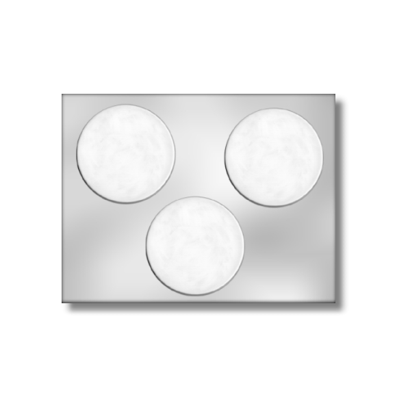 "3"" Circle Mold (3 per mold)"