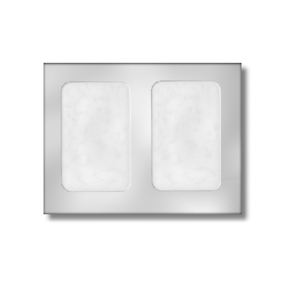 Greeting Card Mold (2 per mold)