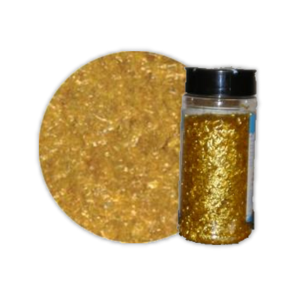 Edible Glitter 4oz Gold