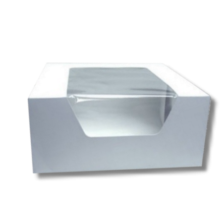 1/4 Sheet Cake Window Box-14x10x4 100/cs