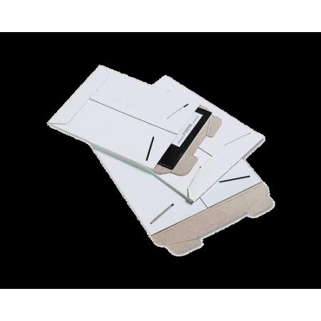 White 13x18 Stay Flat Cardboard envelope 10pk