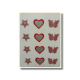 Ultimate Edible Designs - Stars, Hearts and Butterflies-Red and Silver