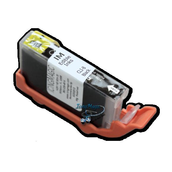 CLI-8 Black Edible Ink Color Cartridge