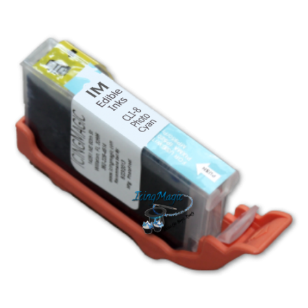 CLI-8 Photo Cyan Edible Ink Cartridge