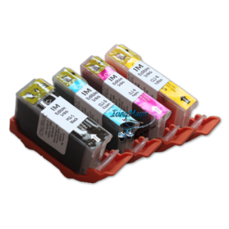 CLI4 Edible Ink Color Cartridge Set with chip