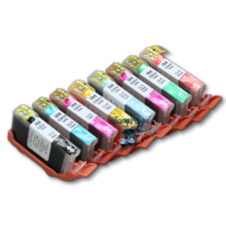 CLI8 Edible Ink Color Cartridge Set with chip