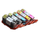 CLI 220/221 Edible Ink Color Cartridge Set