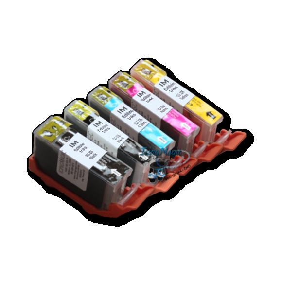 CLI 225/226 Edible Ink Color Cartridge Set