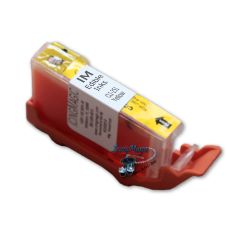 Y251 Yellow Edible Ink Color Cartridge