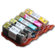 CLI 250/251 Edible Ink Color Cartridge Set