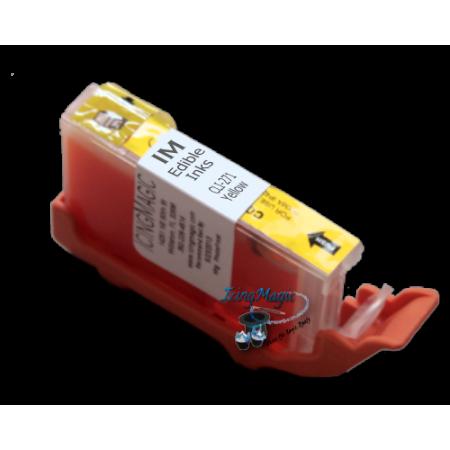 CLI-271 FlexFrost Yellow Edible Ink Cartridge