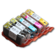 270/271 Edible Ink Color Cartridge Set
