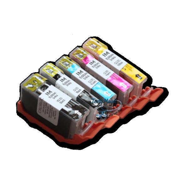 CLI 270/271 Edible Ink Color Cartridge Set