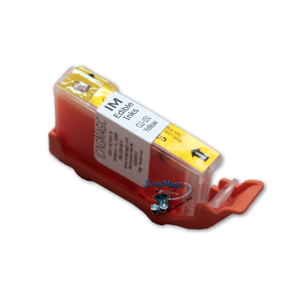 CLI-151 Yellow Edible Ink Color Cartridge