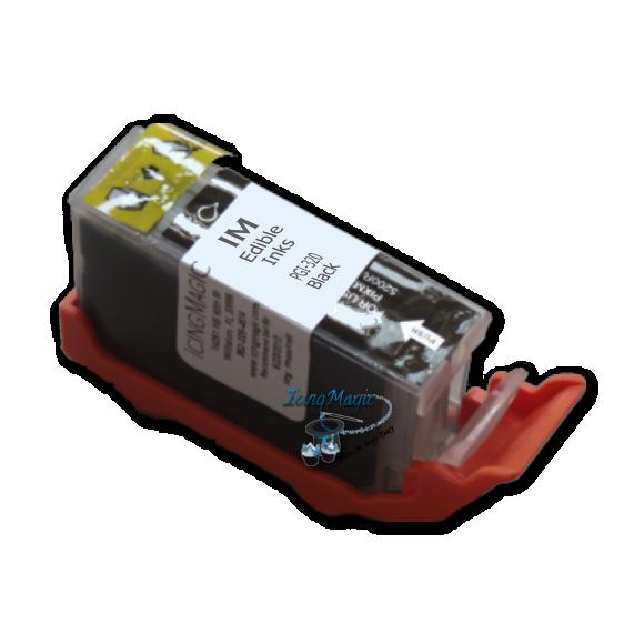 PGI-320 Black Edible Ink Color Cartridge