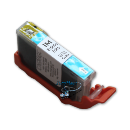 CLI-321 Cyan Edible Ink Cartridge