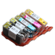 CLI 320/321 Edible Ink Color Cartridge Set
