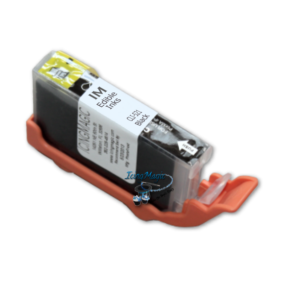 CLI-521 Black Edible Ink Cartridge