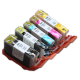 CLI 520/521 Edible Ink Color Cartridge Set