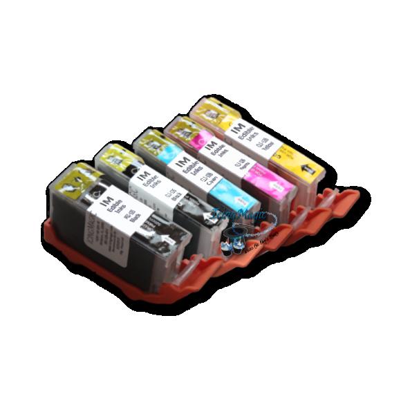 CLI 125/126 Edible Ink Color Cartridge Set