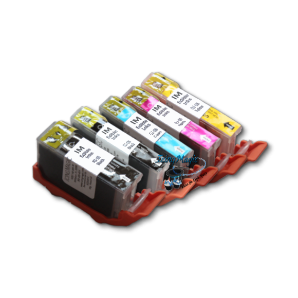 CLI 125/126 Edible Ink Color Cartridge Set