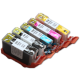 CLI 425/426 Edible Ink Color Cartridge Set