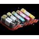 CLI 525/526 Edible Ink Color Cartridge Set