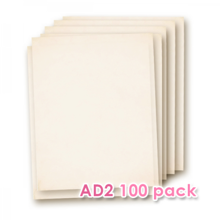 Wafer Paper AD2 100 Sheets Pack White