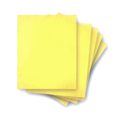 Wafer Paper AD2 100 Sheets Pack Yellow