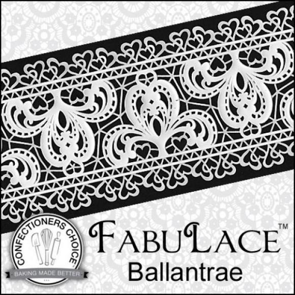 FabuLace™ Ballentrae Cake Lace Silicone Mat