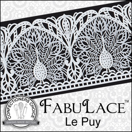 FabuLace™ Le Puy Cake Lace Silicone Mat